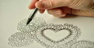 Dibujos de corazon